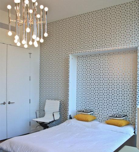 camouflage wallpaper bedroom design ideas remodels photos houzz