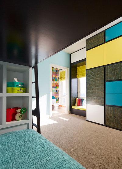 Contemporáneo Dormitorio by John Robert Wiltgen Design, Inc.