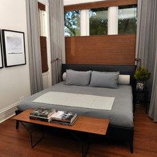 Contemporary Bedroom by Nicholas Moriarty Interiors