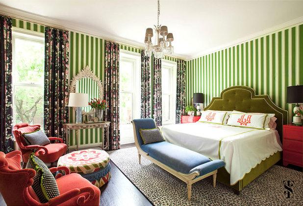 Transitional Bedroom by Summer Thornton Design, Inc