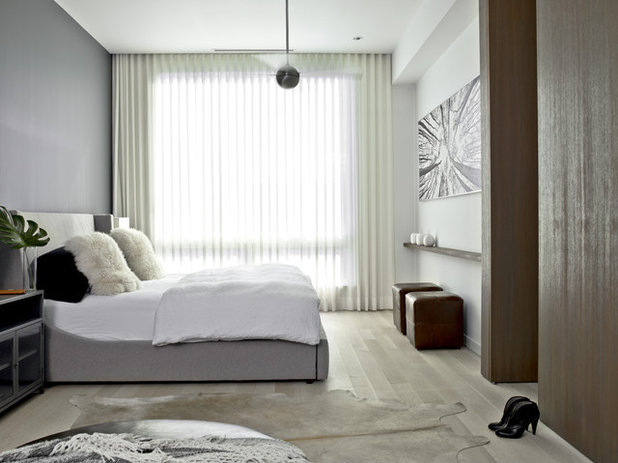 Contemporary Bedroom by Searl Lamaster Howe Architects