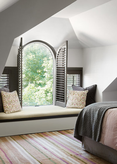 Transitional Bedroom by Centered By Design