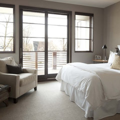 contemporary bedroom by Andrea Swan - Swan Architecture