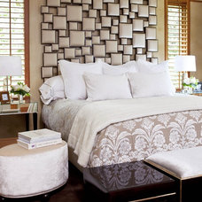 Bedroom by Martha O'Hara Interiors