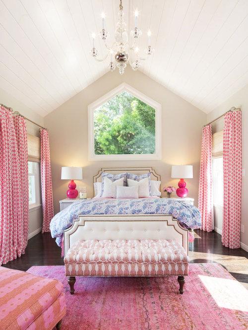 Pink Master Bedroom Design Ideas Renovations Photos