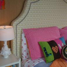 Eclectic Bedroom by lisa rubenstein - real rooms design