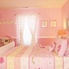 Traditional Bedroom Little Girl's Dream Bedroom