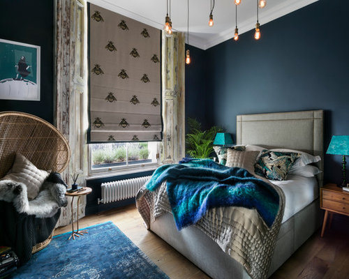 Eclectic Master Bedroom Design Ideas Renovations Photos
