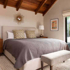 Transitional Bedroom by Margot Hartford Photography