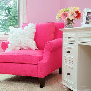 クリーブランドのトラディショナルスタイルのおしゃれな寝室