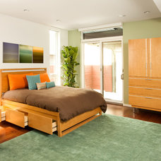 Contemporary Bedroom by Central Meridian Photography