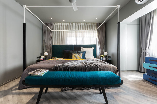 Contemporary Bedroom by Anuja Kambli