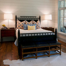 Farmhouse Bedroom by Yellow Door Design