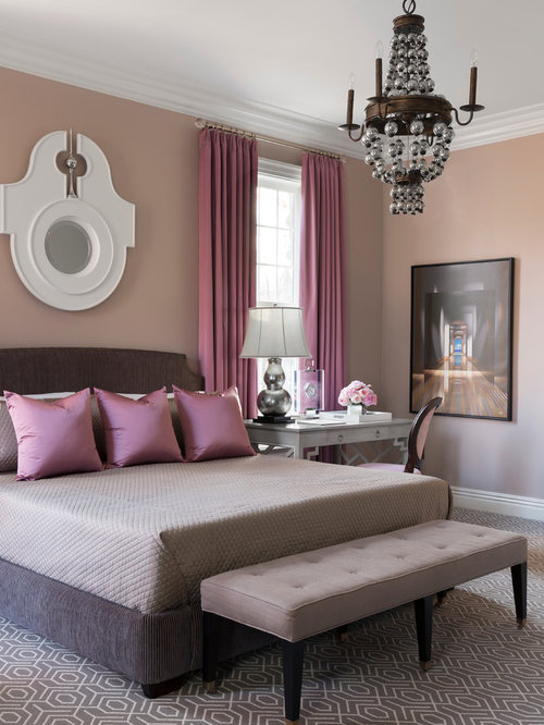 Mauve Bedroom Design Ideas Renovations amp Photos With