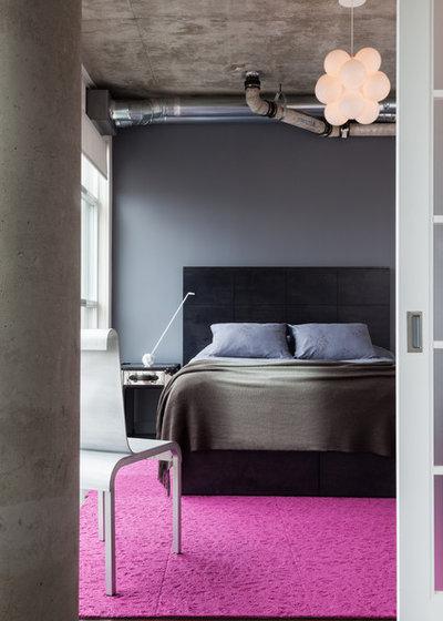 Contemporary Bedroom by Rad Design Inc