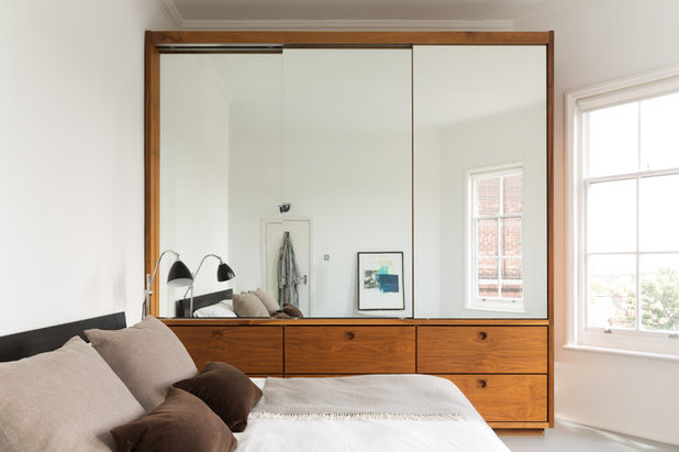 Scandinavian Bedroom by Element Studios