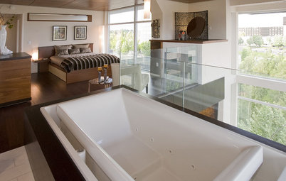Daring Style: Bedroom and Bath, All In One