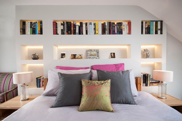 Contemporary Bedroom by Laura Stephens Interiors