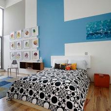 Contemporary Bedroom by Jon Andersen Interiors