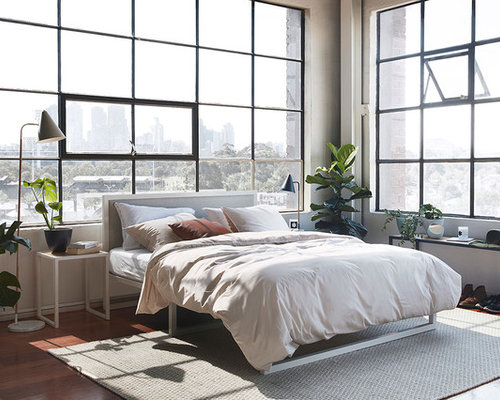Industrial bedroom design ideas renovations photos Industrial bedroom