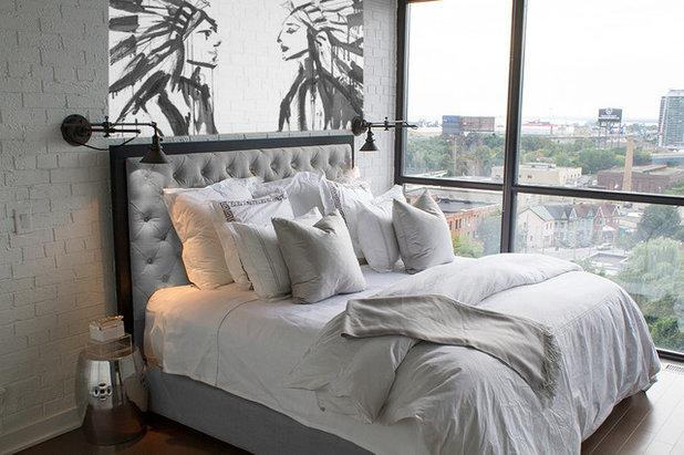Industriel Chambre by Montana Labelle Design Inc
