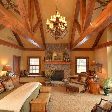 Log Home Master Suite Addition