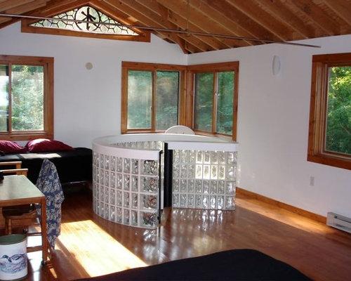 chambre mansard e ou avec mezzanine asiatique photos et. Black Bedroom Furniture Sets. Home Design Ideas