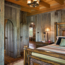 Traditional Bedroom by Appalachian Log and Timber Homes