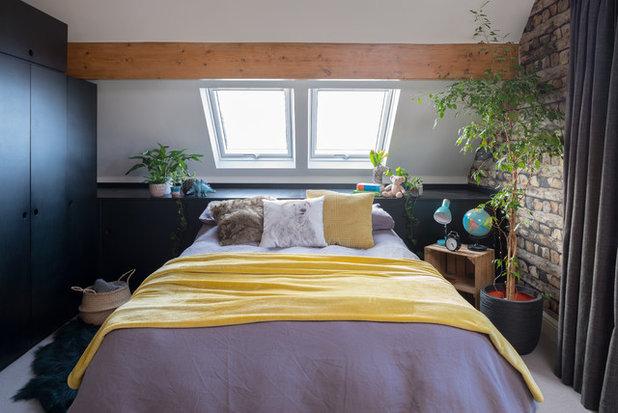 Contemporary Bedroom by Storylines Interior Design