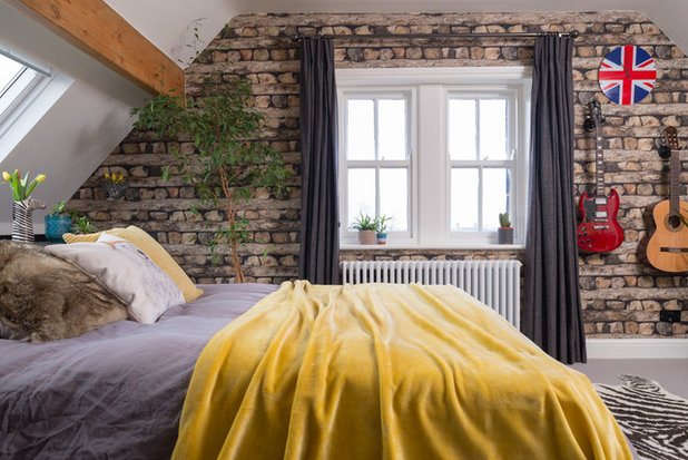 Country Bedroom by Storylines Interior Design