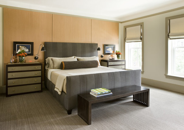 Transitional Bedroom by JD Ireland Interior Architecture + Design
