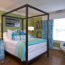 Contemporary Bedroom by Lynn Allen Design, Inc.
