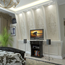 Traditional Bedroom by Lompier Interior Group