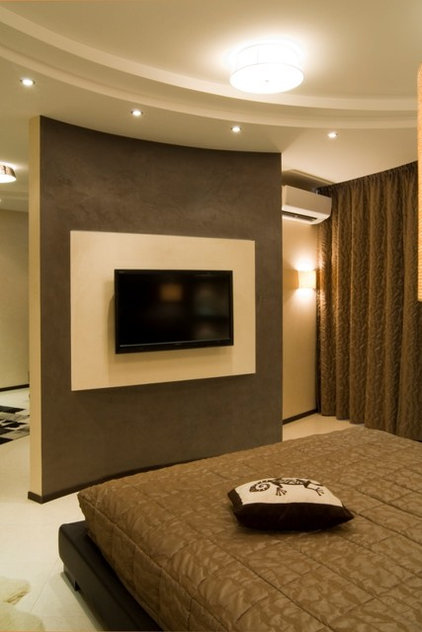 Modern Bedroom by Lompier Interior Group