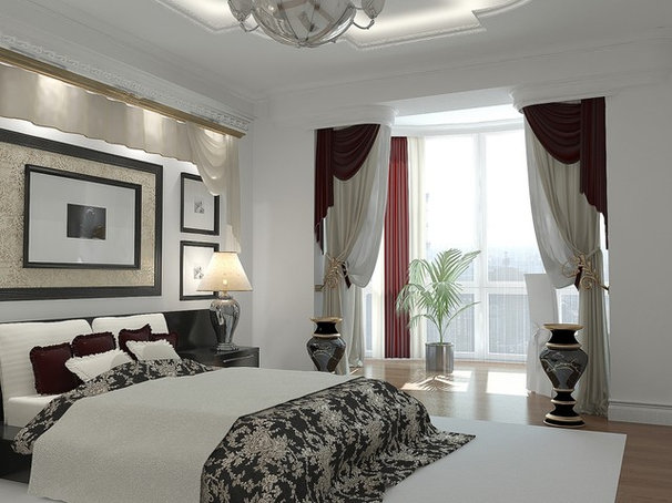 Contemporary Bedroom by Lompier Interior Group