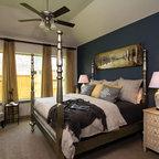 London Eclectic Bedroom Dallas By David Weekley Homes