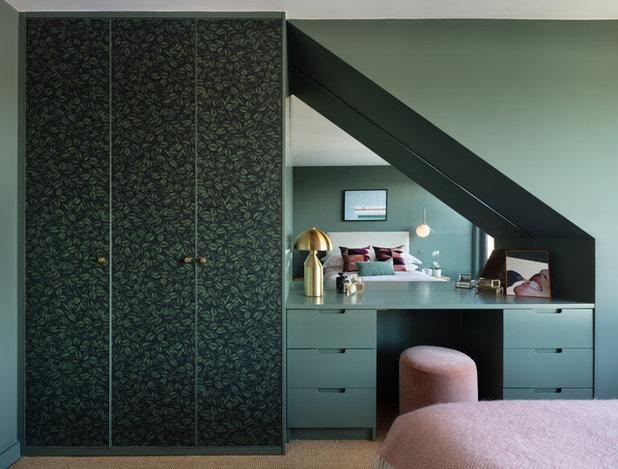 Minimalistisch Schlafzimmer by Shanade McAllister-Fisher Interior Design