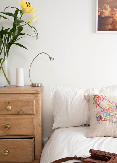 Shabby-chic Style Bedroom London