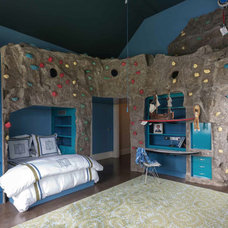 Eclectic Bedroom by Colony Rug Company, Inc.