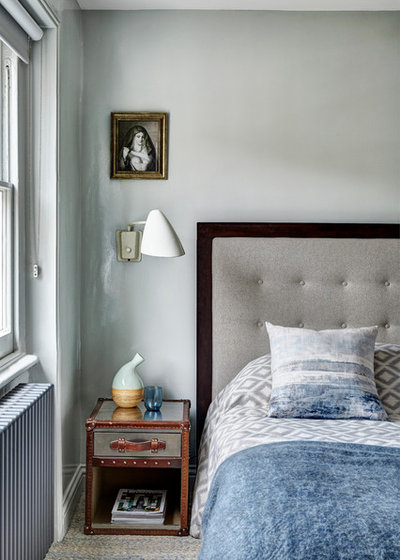 Transitional Bedroom by Sigmar