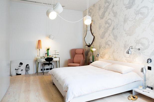 Decora el dormitorio con papel pintado