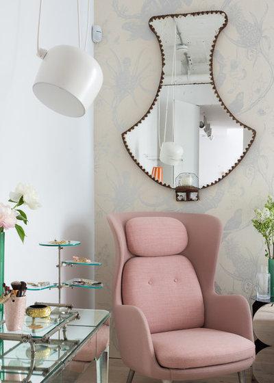 Scandinavian Bedroom by Nia Morris Studio
