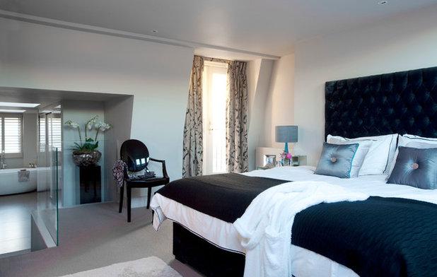 Contemporary Bedroom by Emma Green Design