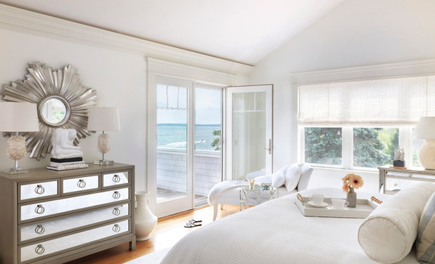 Beach Style Bedroom by Digs Design Company