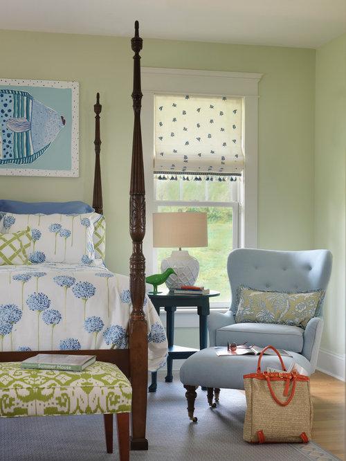 Beach style bedroom design ideas remodels photos with for Beach style bedroom designs