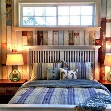 Beach Style Bedroom by Tamara Rosenbloom Design LLC
