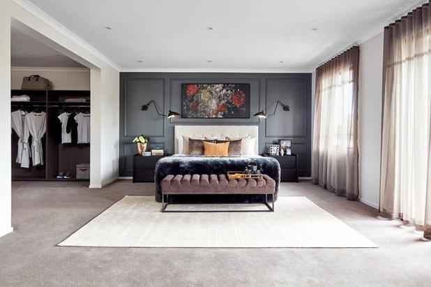 Contemporary Bedroom by Metricon