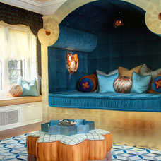Eclectic Bedroom by Lori Dennis, ASID, LEED AP