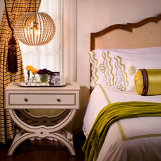 Mediterranean Bedroom by Lori Dennis, ASID, LEED AP