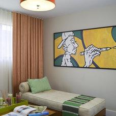 Modern Bedroom by Lori Dennis, ASID, LEED AP